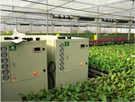 山东锦绣兰业花卉科技有限公司,地源中央空调,地暖与风机盘管