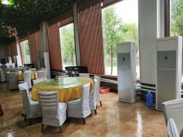 邹平县金河农家大院婚宴大厅,取暖制冷,室内温度22-26℃