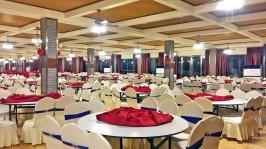 邹平县金河农家大院婚宴大厅、四川某酒店婚宴大厅,取暖制冷,室内温度 22-26℃ (2)