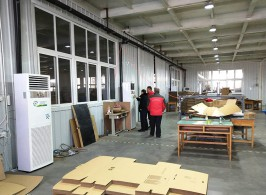 天津市小米包装加工车间,2000平方米,取暖制冷,室内温度20-26℃
