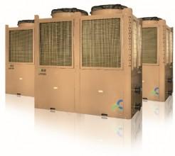 山东变频空气源热泵机组50匹