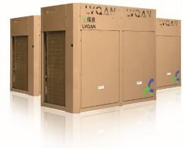 山东变频空气源热泵机组25匹